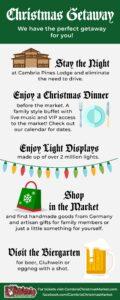 CCM Christmas Getaway Itinerary